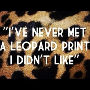 DO YOU LOVE ❤️ LEOPARD?
